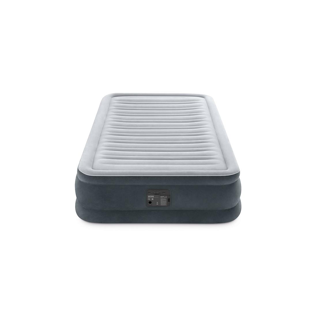 Матрас надувной Intex 67766NP (серый)