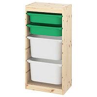 Стеллаж для игрушек ТРУФАСТ 44x30x91 см ИКЕА,  IKEA