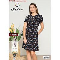 Платье штапелье короткое
