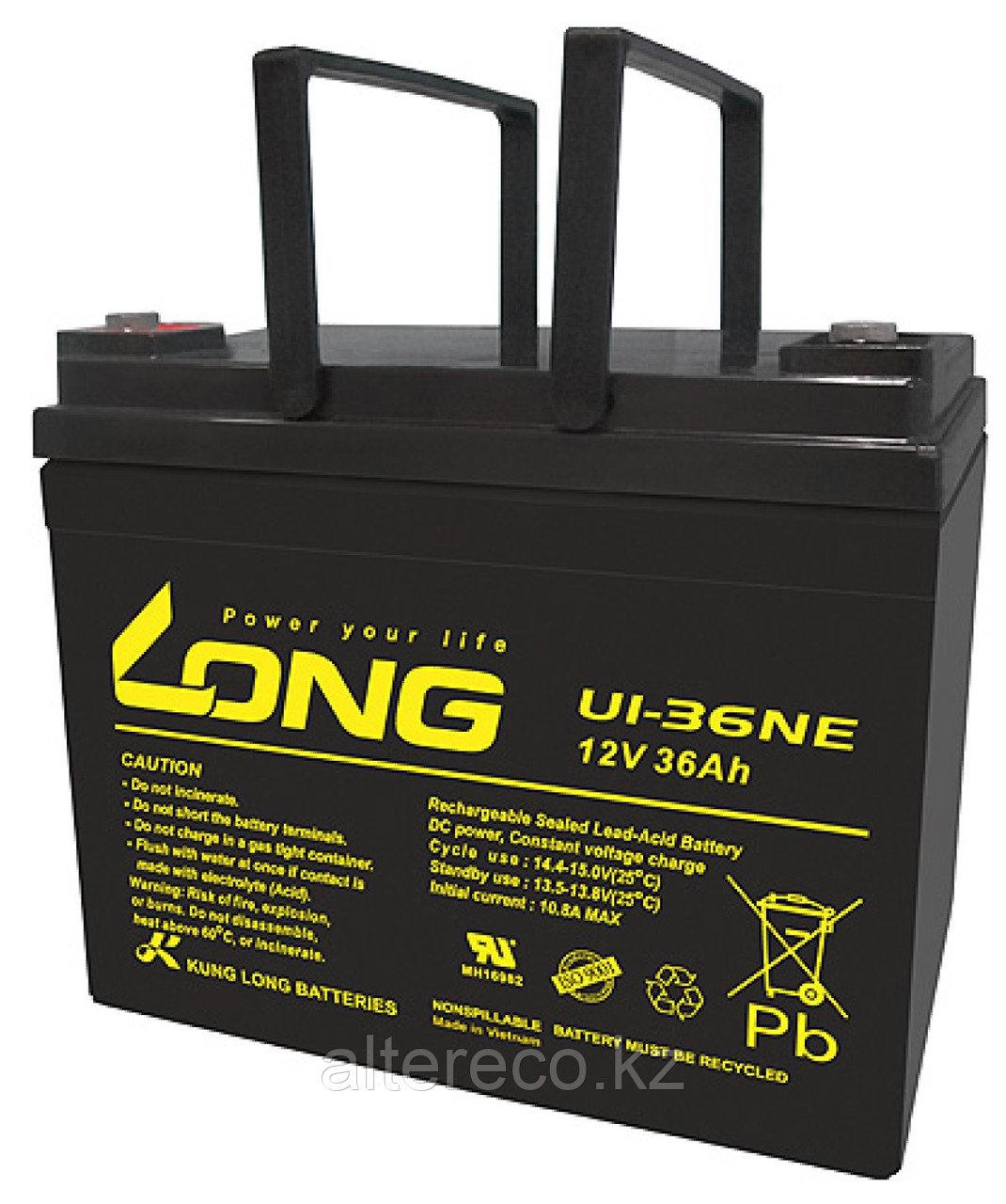 Аккумулятор LONG U1-36NE (12В, 36Ач)