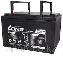 Тяговый аккумулятор LONG LGK100-12N (12В, 100Ач)