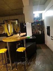 Меблировка квартиры в стиле лофт. Алматы. ИП VAT 8