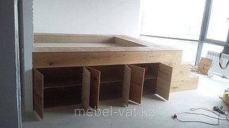 Меблировка квартиры в стиле лофт. Алматы. ИП VAT 13
