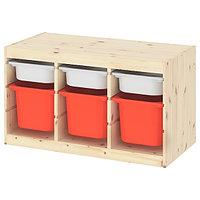 Стеллаж для игрушек ТРУФАСТ 94x44x52 см ИКЕА, IKEA