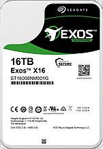 "Seagate ST16000NM001G Корпоративный жесткий диск  16Tb EXOS X16 SATA3 3.5"" 256Mb 7200rpm"