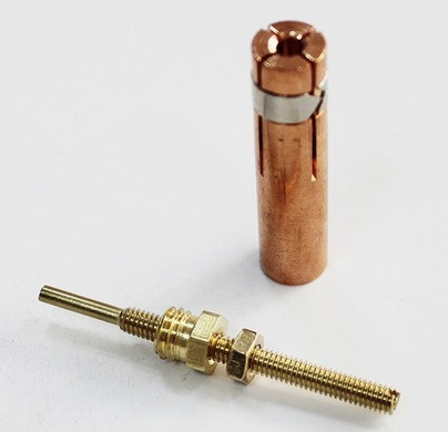 Цанга для конденсаторной сварки М4