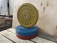 Бамперный диск для кроссфита 15 кг