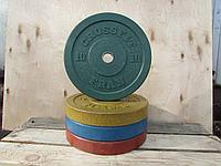 Бамперный диск для кроссфита 10 кг