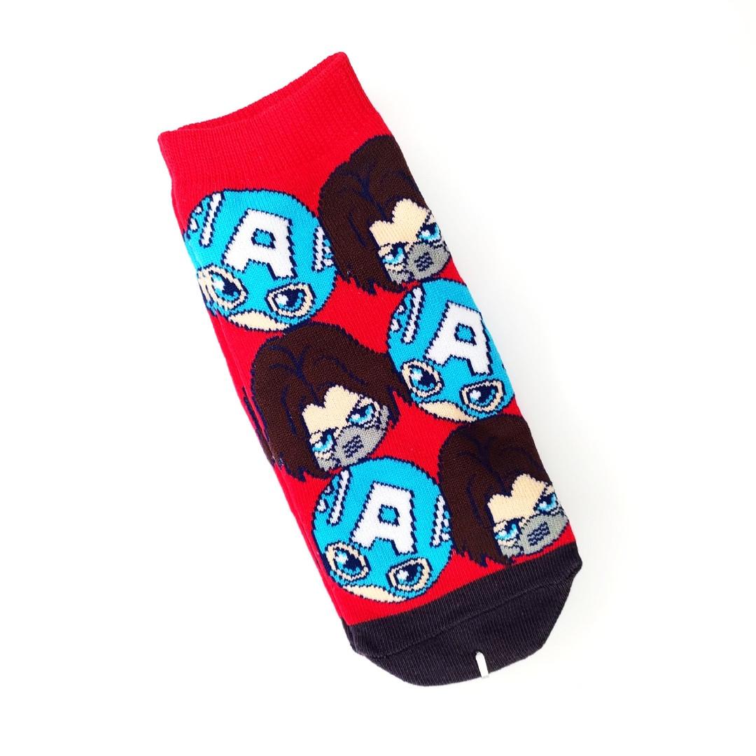 Носки  Капитан Америка и Зимний Солдат.
