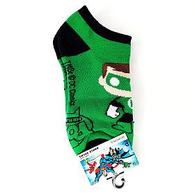 Носки короткие Зеленый Фонарь.