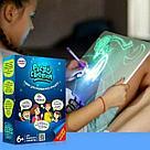 Творческий, детский набор «Рисуй светом» А4, фото 4