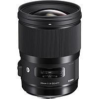 Объектив Sigma 28mm f/1.4 DG HSM Art Lens for Nikon