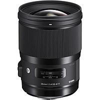 Объектив Sigma 28mm f/1.4 DG HSM Art Lens for Canon