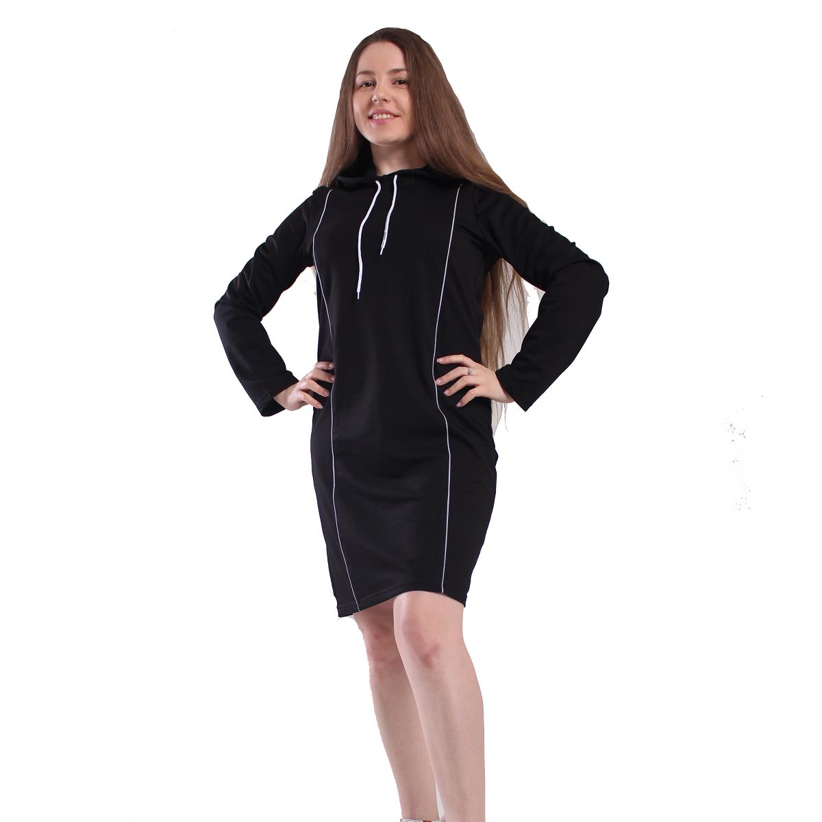 Платье трикотажное «Стрела» - фото 1