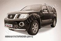 Защита переднего бампера d76 Nissan Pathfinder 2010-13