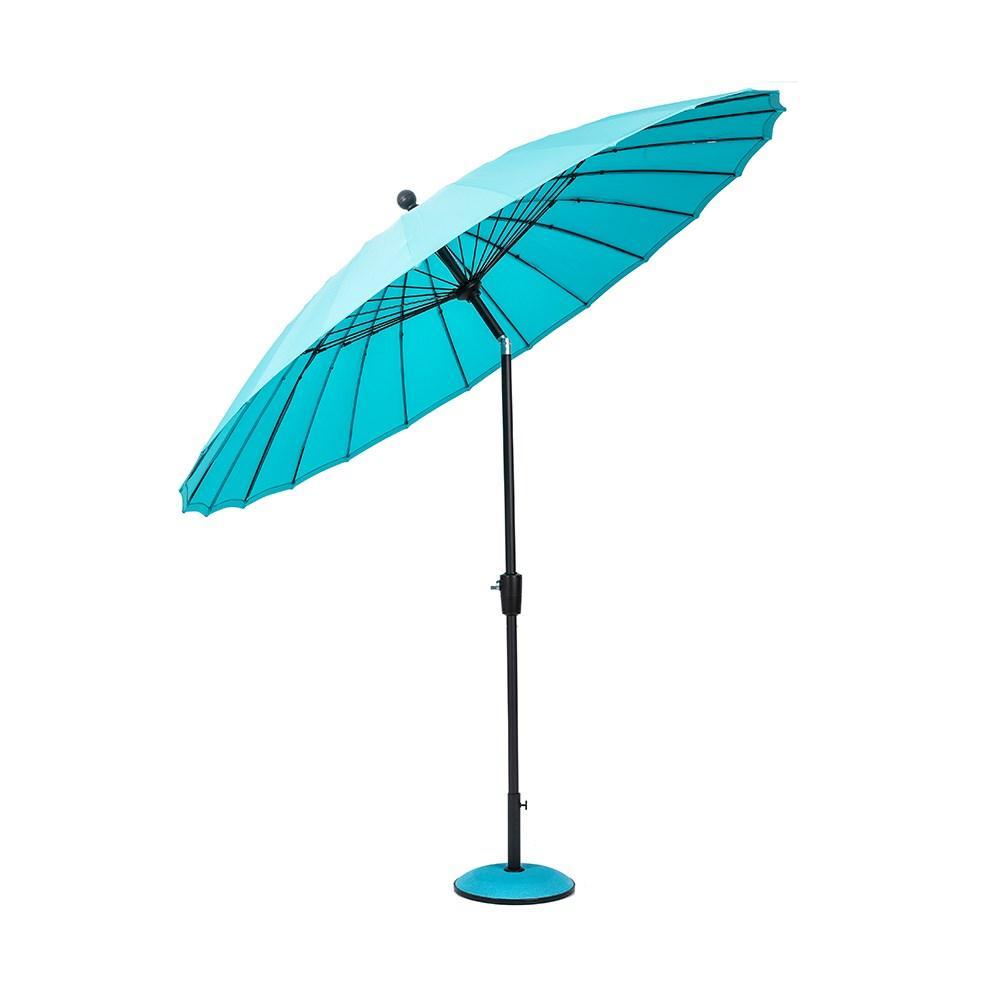 Зонт садовый салатовый откидной 2.7 м.