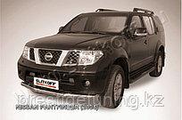 Защита переднего бампера d76 Nissan Pathfinder R51 2005-10