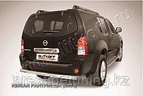 Защита заднего бампера d76 Nissan Pathfinder R51 2005-10