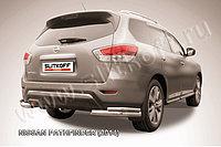 Уголки d76+d42 двойные Nissan Pathfinder 2014-