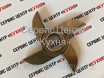 Нож двухсторонний МИМ 600 (c буртом) Хром
