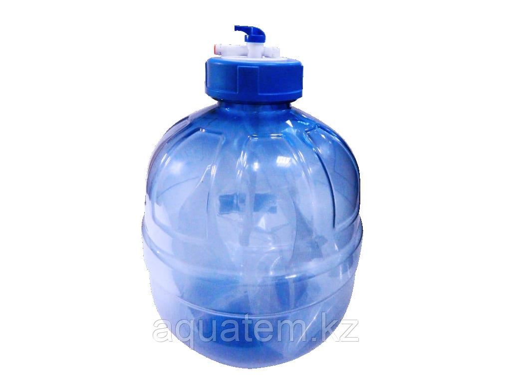 Накопительный бак 3gal прозрачный 15 литров