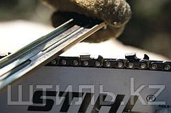 Острая цепь пилы обеспечивает продуктивную работу