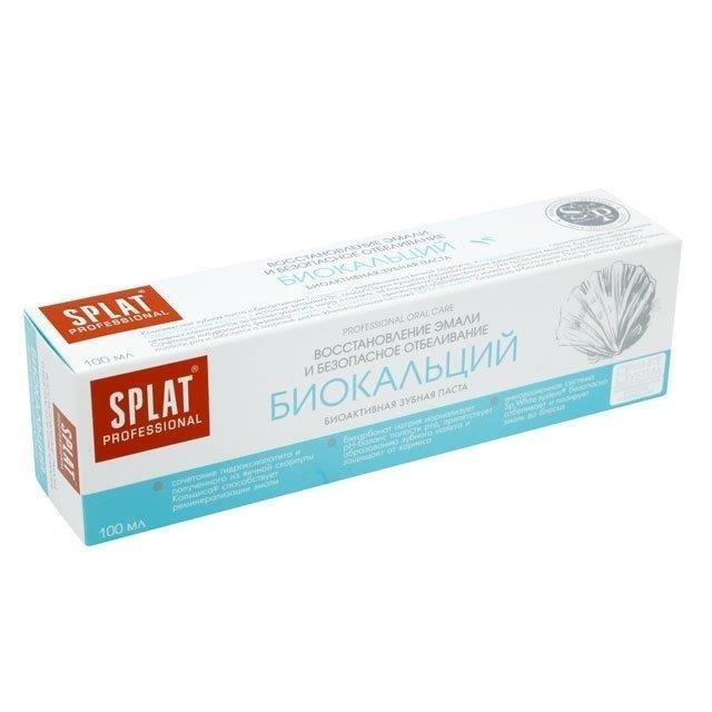 Зубная паста Сплат Проф. 100мл. в ассортименте биокальций