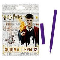 Фломастеры 12 цветов 'Гарри Поттер', картонная коробка, европодвес