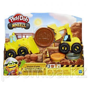 Набор игрушек Hasbro Play-Doh Экскаватор