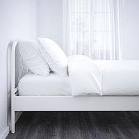 НЕСТТУН Каркас кровати, белый, Лонсет, 90x200 см, фото 1