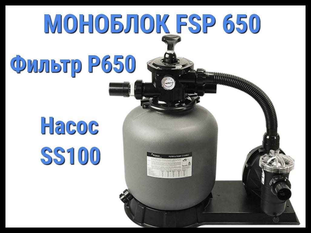 Фильтровальная установка для бассейна Emaux FSP650 (Моноблок)