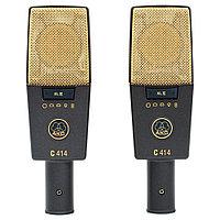 Стереопара студийных микрофонов AKG C414XLII ST