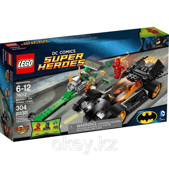 LEGO Super Heroes: Бэтмен: Погоня за Загадочником 76012