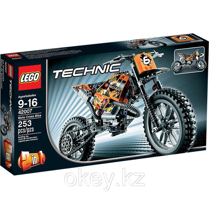 LEGO Technic: Кроссовый мотоцикл 42007