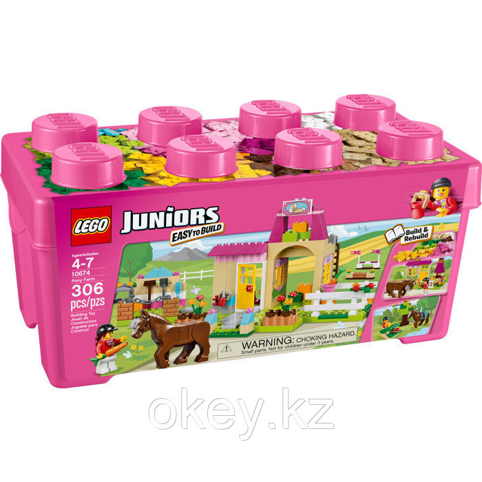 LEGO Juniors: Пони на ферме 10674