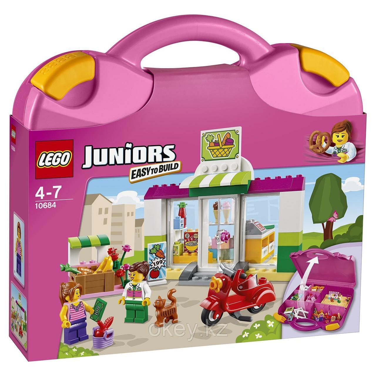LEGO Juniors: Чемоданчик Супермаркет 10684