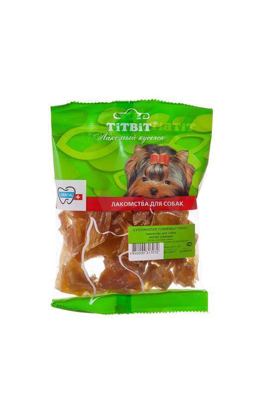 Сухожилия говяжьи TitBit Mini для собак - 100 г