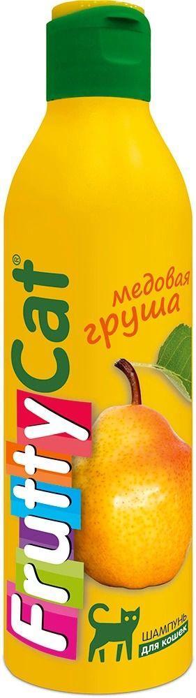 Шампунь FruttyCat Медовая груша для кошек, АВЗ - 250 мл