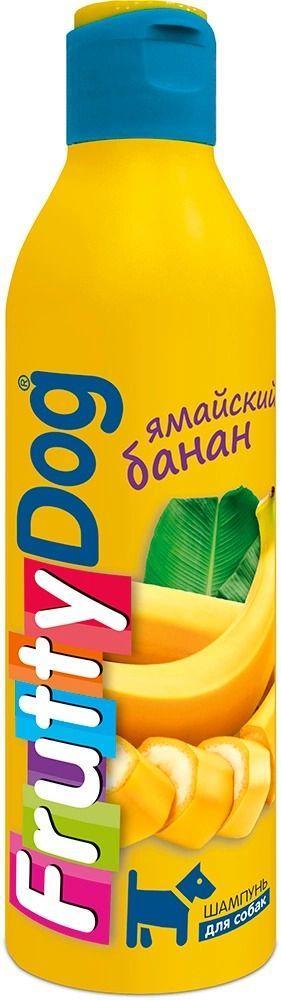 Шампунь FruttyDog Ямайский банан для собак, АВЗ - 250 мл