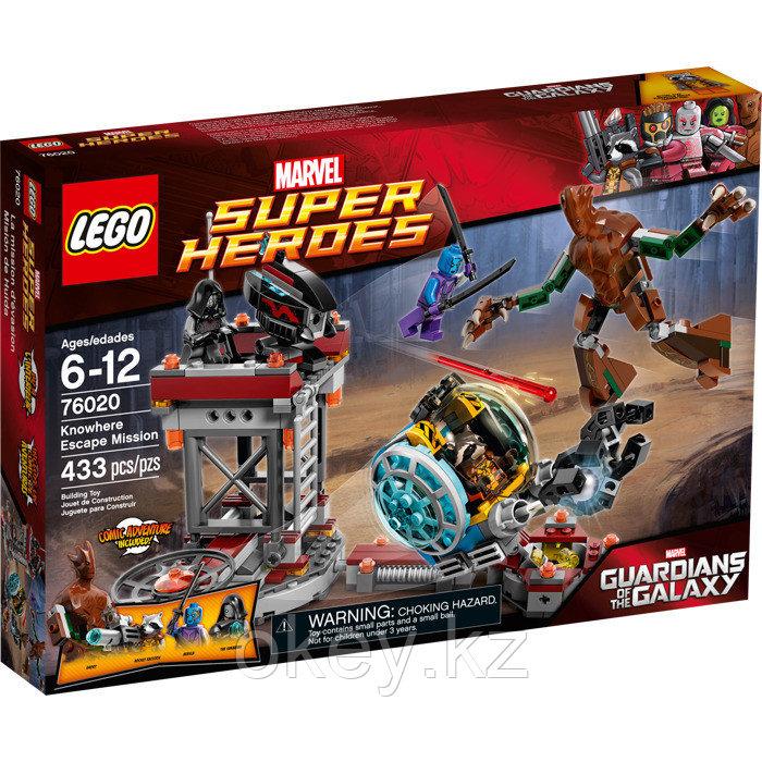 LEGO Super Heroes: Миссия Побег в Забвение 76020