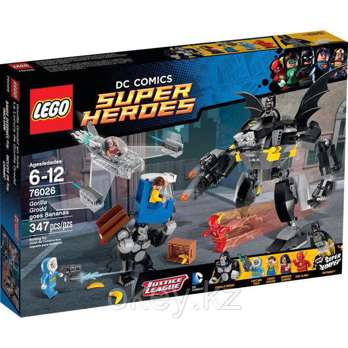 LEGO Super Heroes: Горилла Гродд сходит с ума 76026