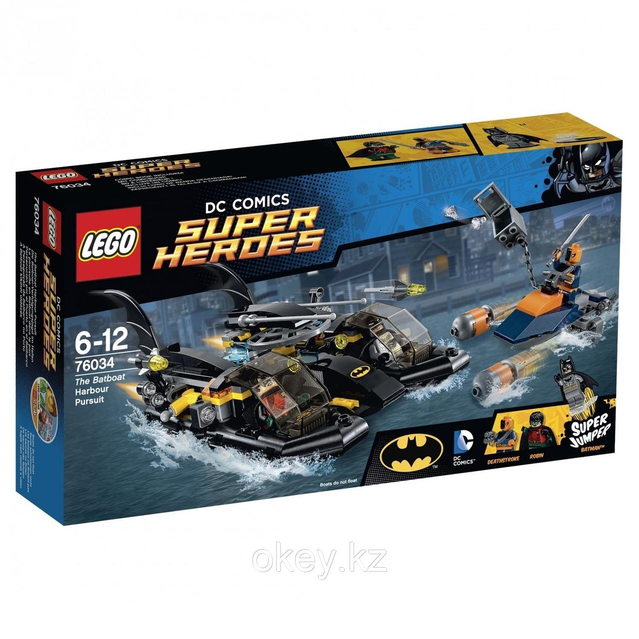 LEGO Super Heroes: Погоня в бухте на Бэткатере 76034