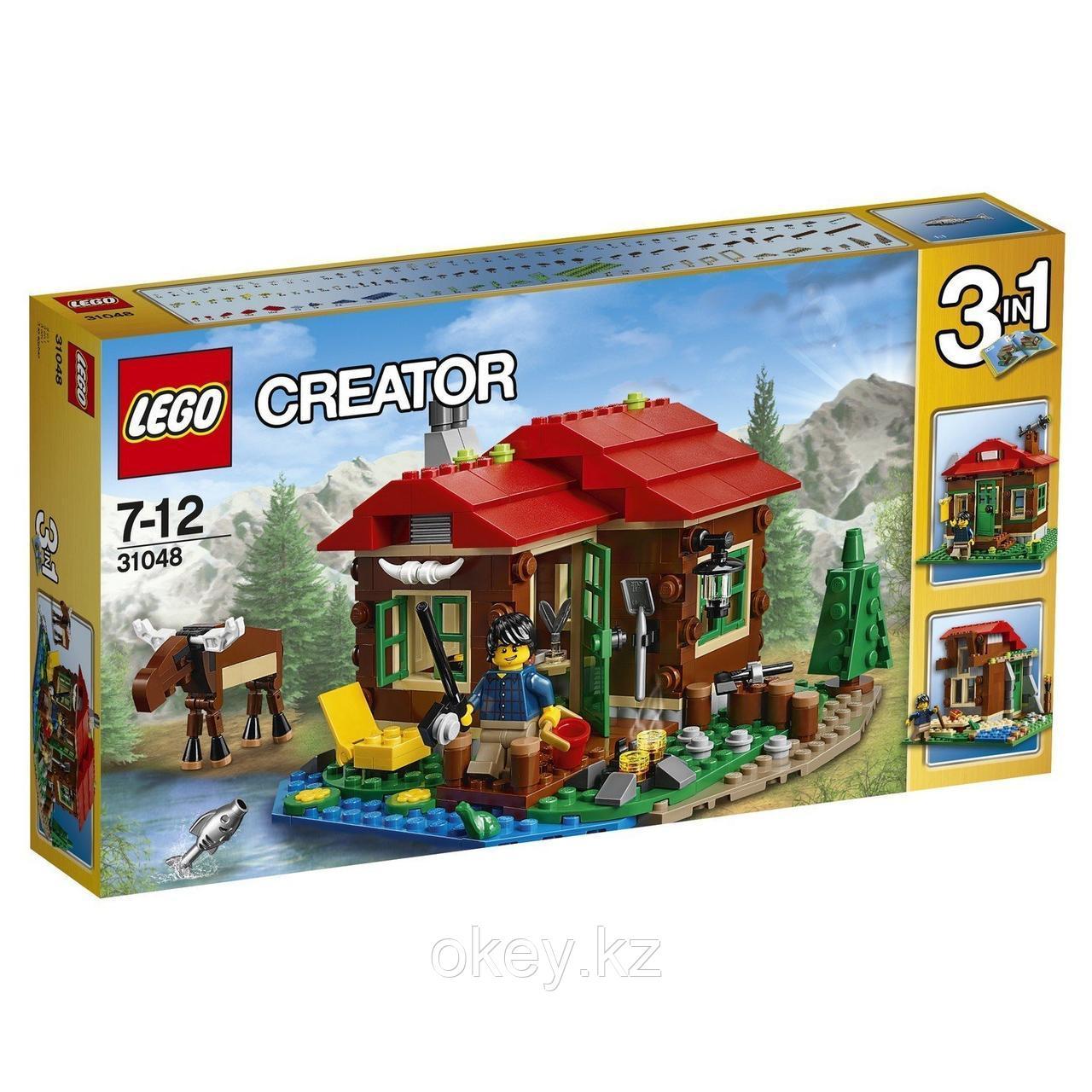 LEGO Creator: Домик на берегу озера 31048