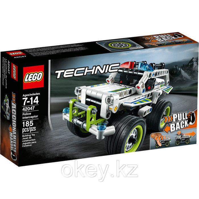 LEGO Technic: Полицейский патруль 42047