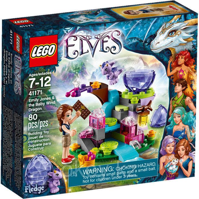 LEGO Elves: Эмили Джонс и дракончик ветра 41171