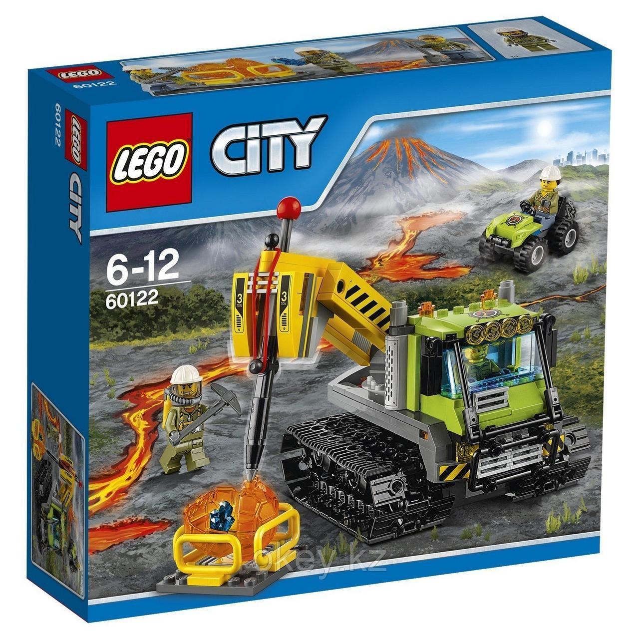 LEGO City: Вездеход исследователей вулканов 60122