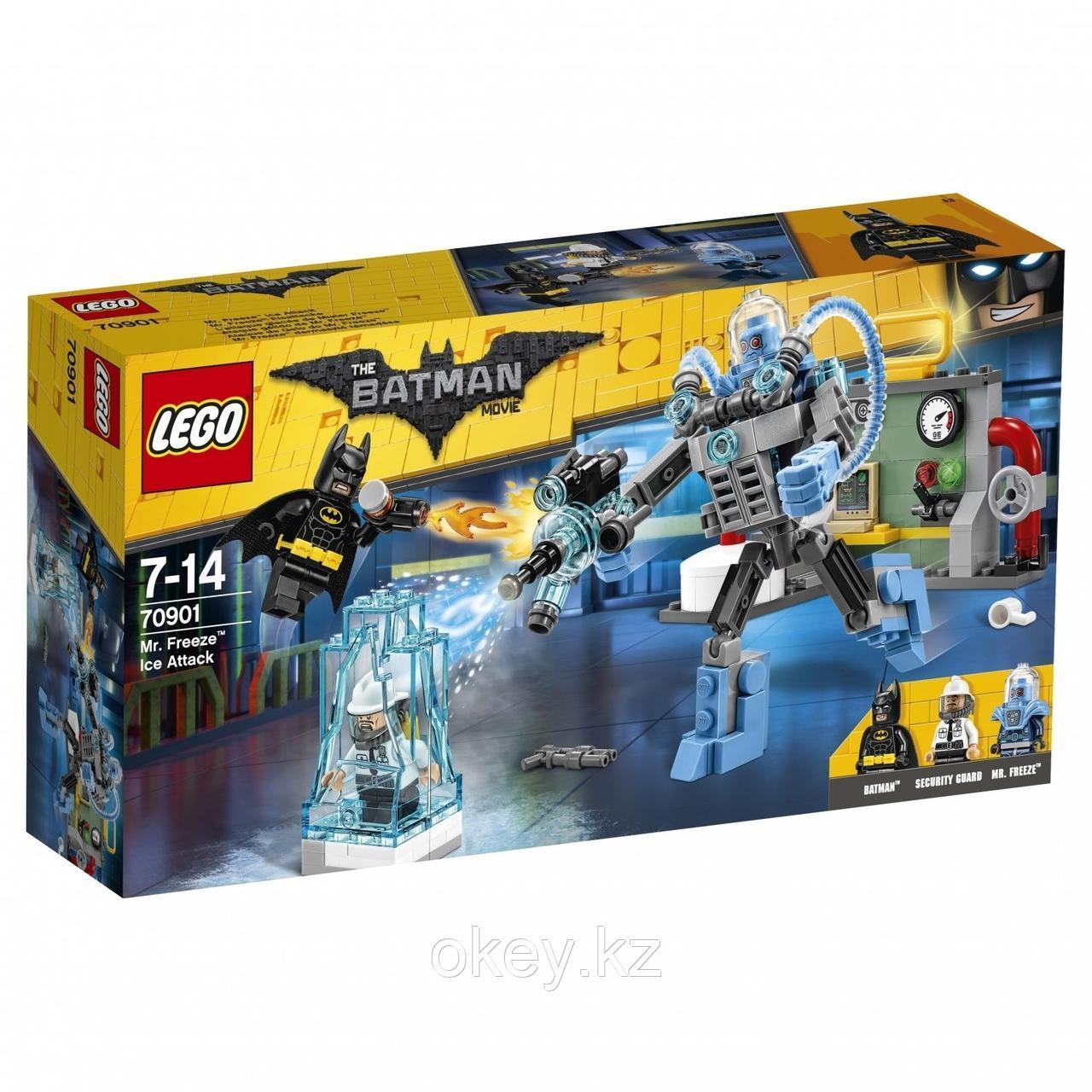 LEGO Batman Movie: Ледяная aтака Мистера Фриза 70901