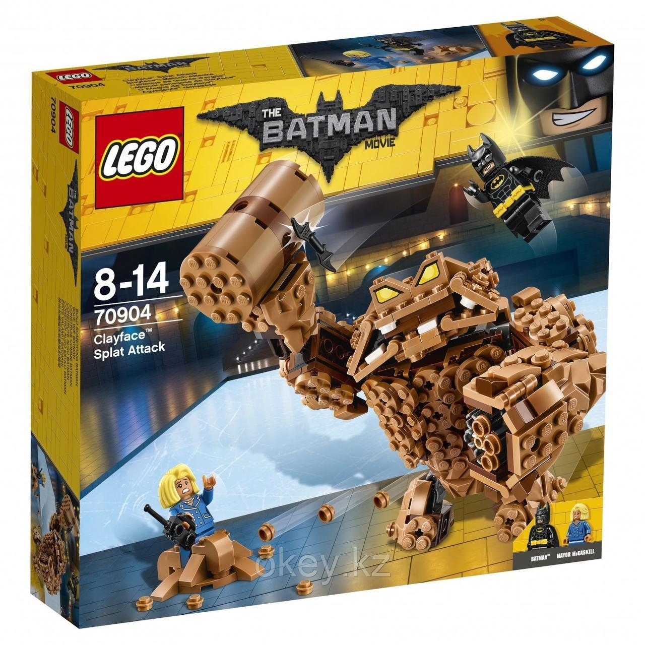 LEGO Batman Movie: Атака Глиноликого 70904