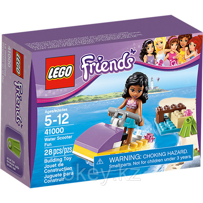 LEGO Friends: Водный мотоцикл Эммы 41000