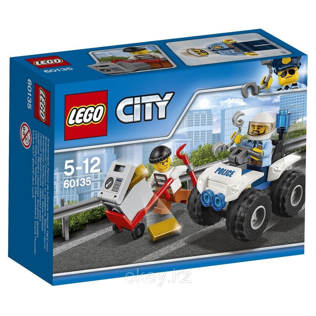 LEGO City: Полицейский квадроцикл 60135